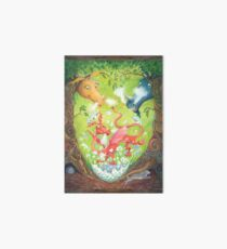 A Dragon is Born Art Board Print