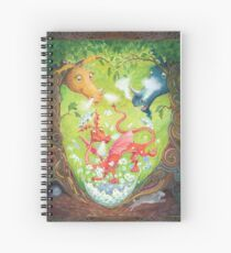 A Dragon is Born Spiral Notebook