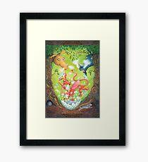 A Dragon is Born Framed Art Print