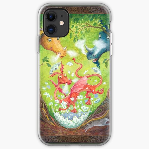 A Dragon is Born iPhone Soft Case