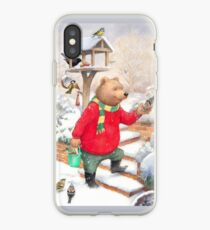 Feeding the Birds iPhone Case