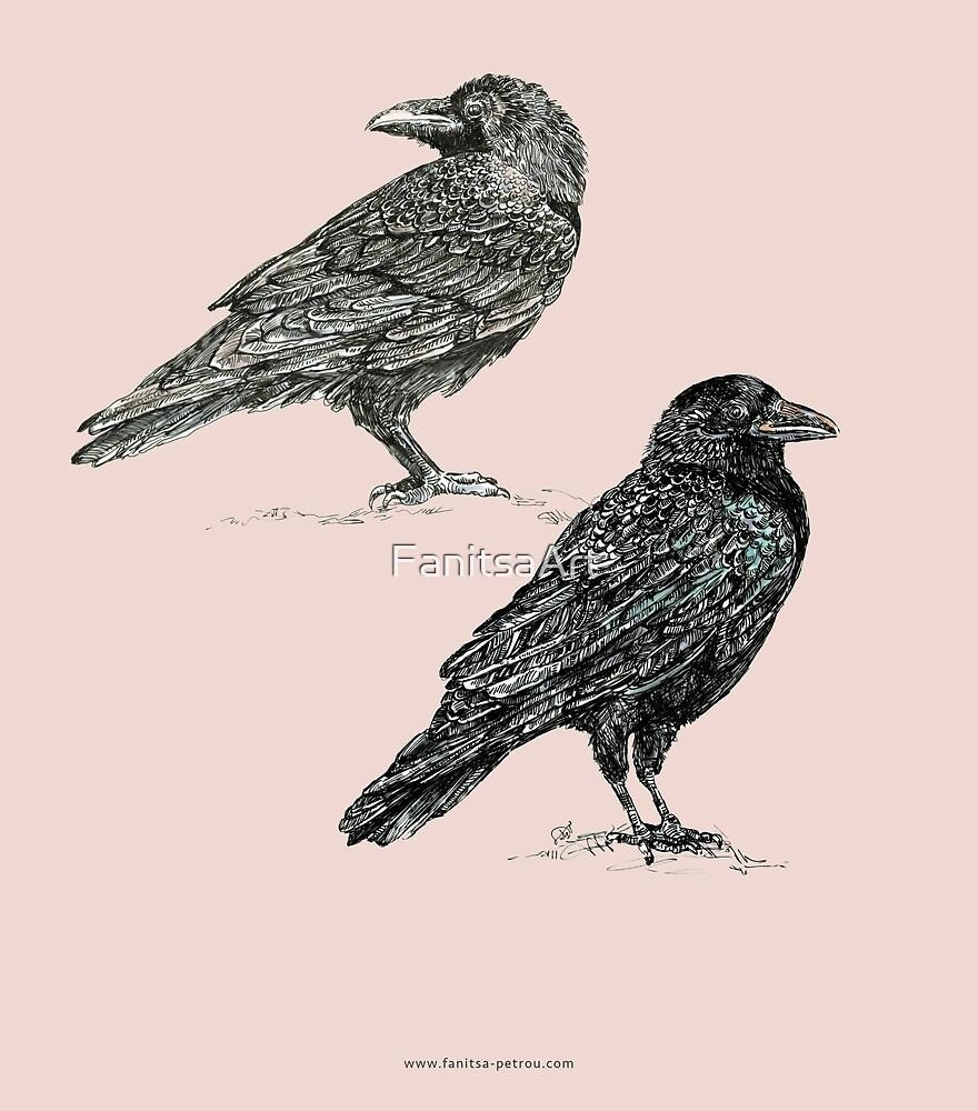 Crows - 1 by Fanitsa Petrou