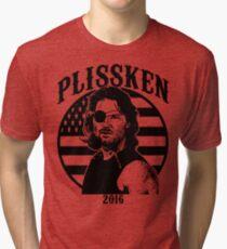 Plissken For President 2016 Tri-blend T-Shirt
