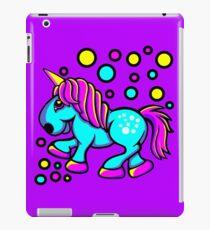 Einhorn Farbe Blau und Pink iPad-Hülle & Klebefolie
