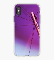 Telegraph pole iPhone Case