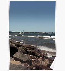 Lake Superior Shore Poster