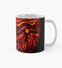 Ornate pumpkin carving Classic Mug