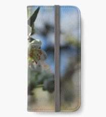 Greengage blossom iPhone Wallet/Case/Skin
