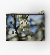 Greengage blossom Zipper Pouch