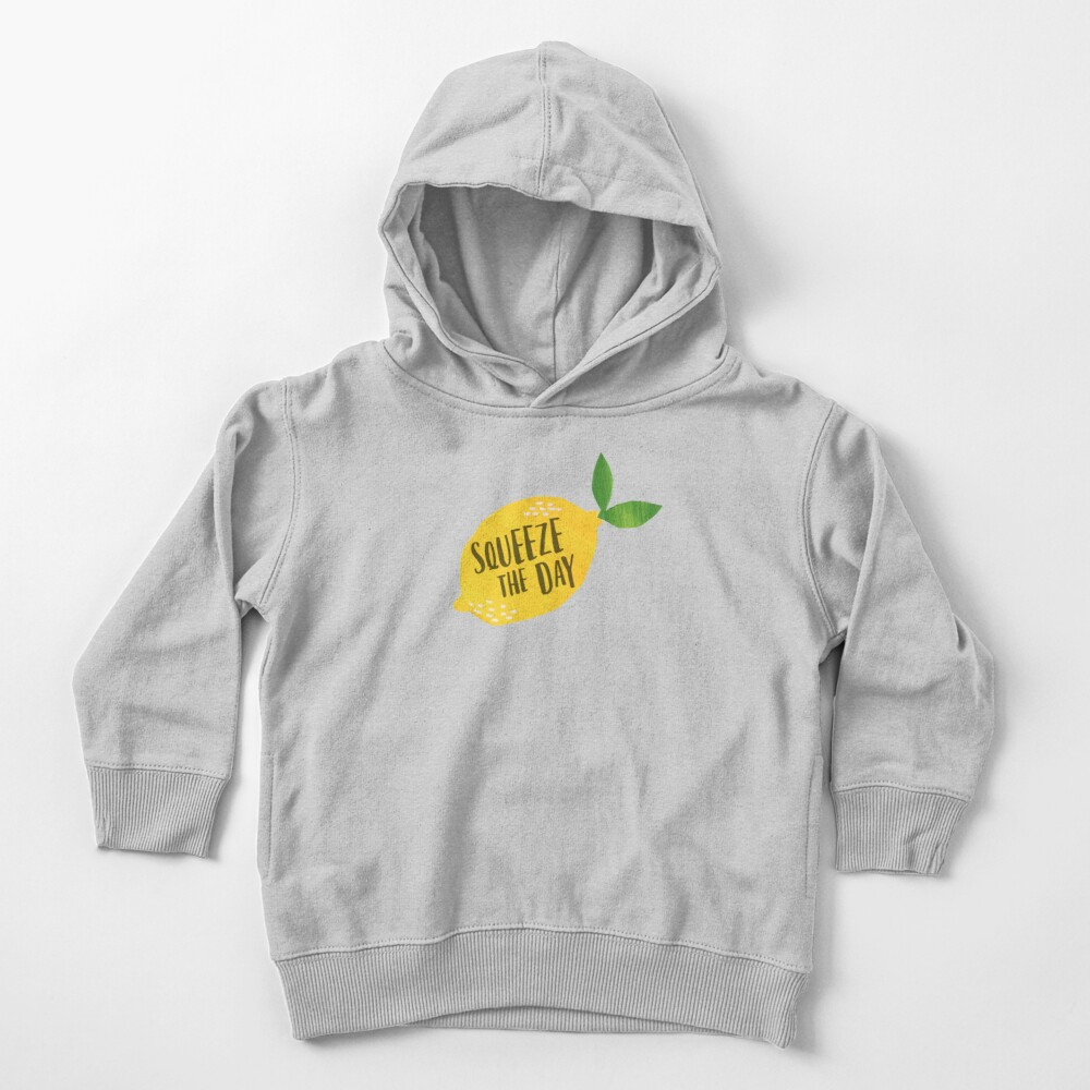 Squeeze the Day Toddler Pullover Hoodie