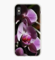 Orchids in sunlight iPhone Case