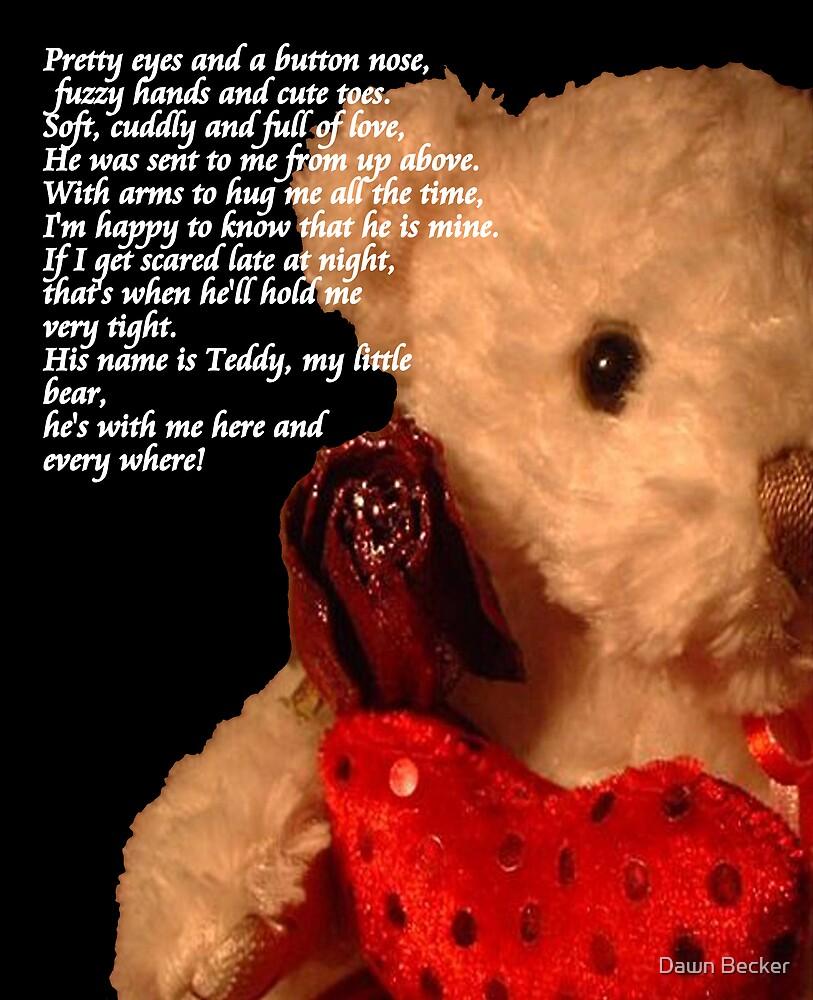 Teddy Poem © by Dawn Becker