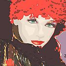 Red Hat Lady by Sherryll  Johnson