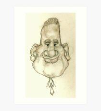 Bobblehead No 4 Art Print
