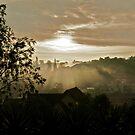 Sunrise in Dalat city, Vietnam by MadsMonsen