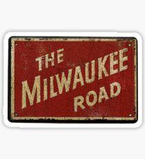 Milwaukee Railroad Sticker