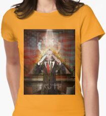 Remastered Portrait of Stephen Colbert Womens Fitted T-Shirt