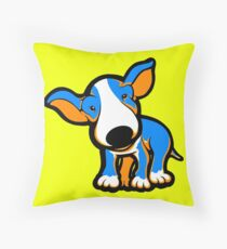 IrnBru English Bull Terrier Puppy  Throw Pillow