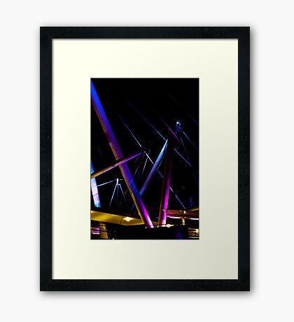 Kurilpa Lights Framed Print