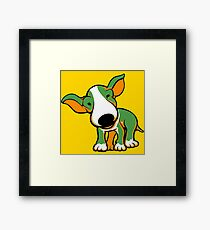 Irish Bull Terrier Puppy  Framed Print