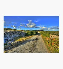 Old Burren Road Photographic Print