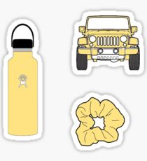 yellow stickers pack Sticker