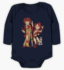 The Doctor, The Warrior, and K-9 One Piece - Long Sleeve