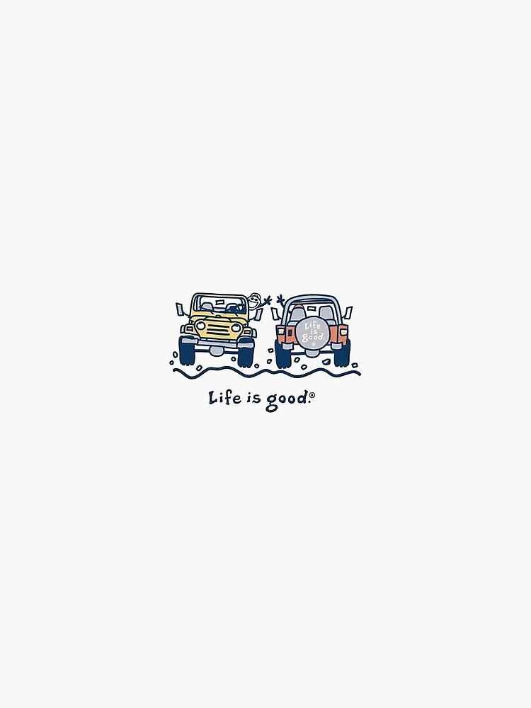 life is good jeep by karestolarczyk