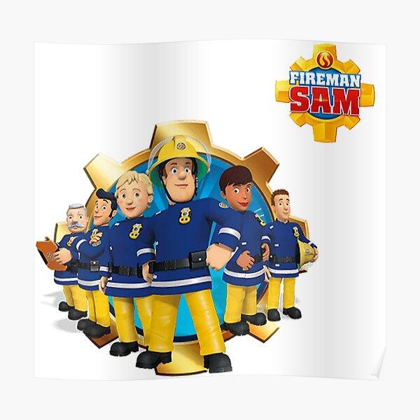 Feuerwehrmann Sam KINDER Kinder Riesige Wand Kunstdruck Poster