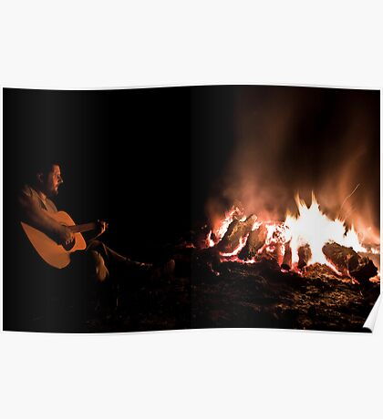 Singin' By the Fire Poster