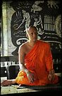Thai Buddhist Monk by Lois Romer