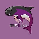 Demisexuwhale - with text by Kirstendraws