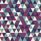 Retro geometric pattern in cold gamma by miroshina