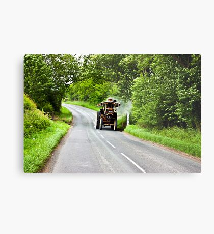 Along The Country Road Metal Print