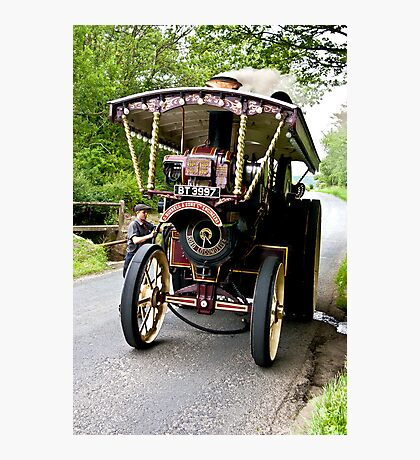 Steam Traction Engine #2 Photographic Print