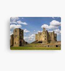 Warkworth Castle Canvas Print