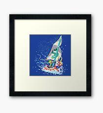 Voyaging ~ WindWaker Framed Print