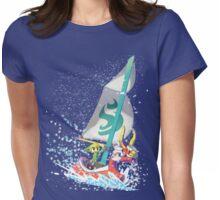 Voyaging ~ WindWaker Womens Fitted T-Shirt