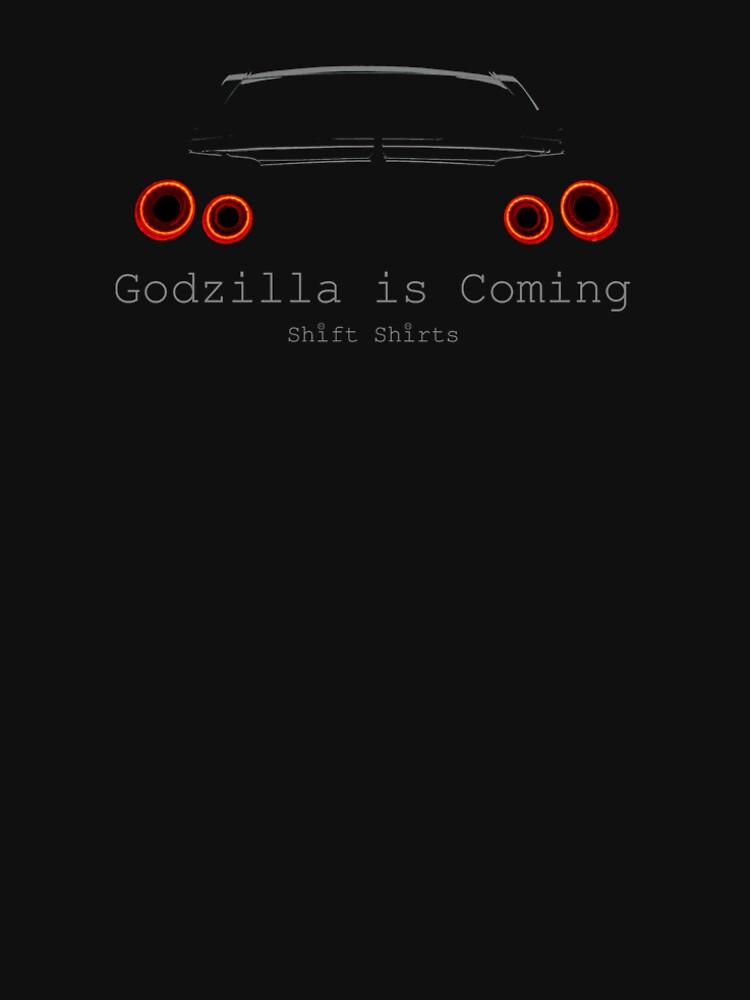 Gawdzilla is Back 2 - R35 GTR Inspired  by ShiftShirts