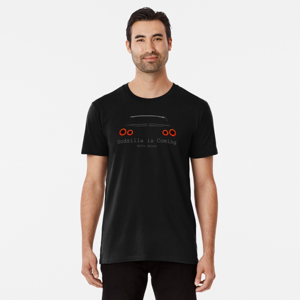 Gawdzilla is Back 2 - R35 GTR Inspired  Premium T-Shirt