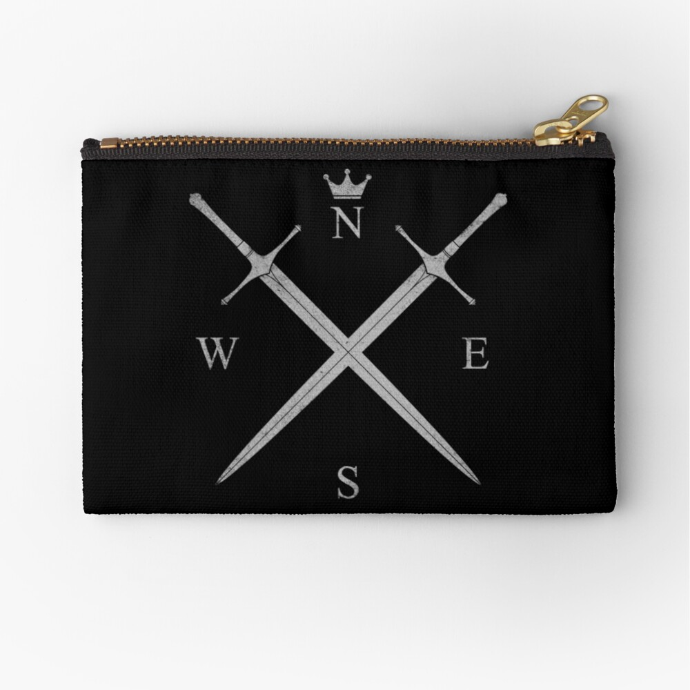 King In The North Zipper Pouch
