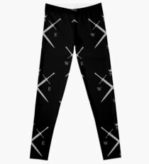 King In The North Leggings