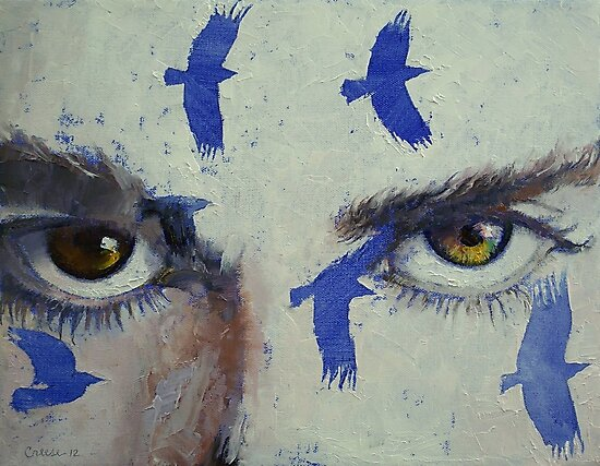 Crows by Michael Creese