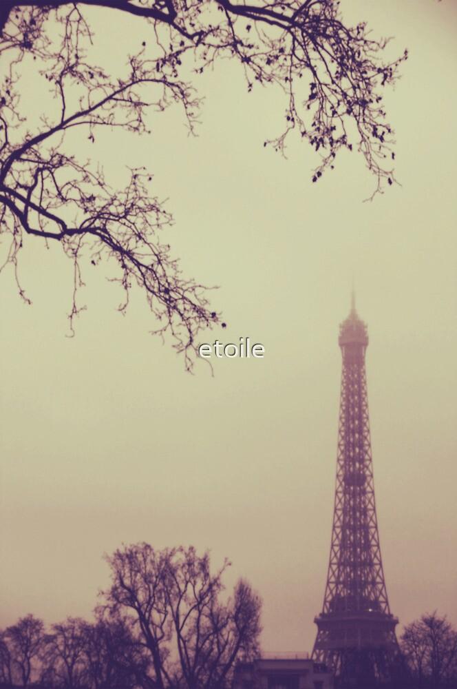 eiffel tower, paris by etoile
