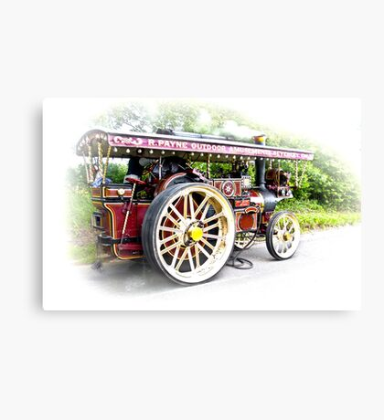 Steam Traction Engine #3 Canvas Print