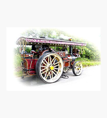 Steam Traction Engine #3 Photographic Print