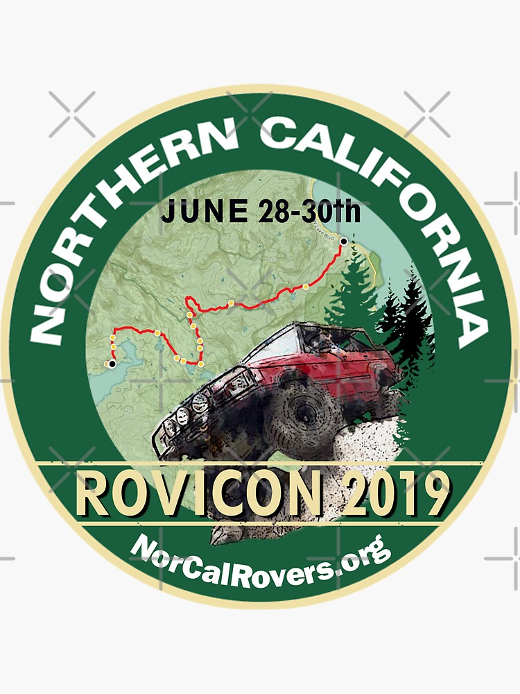 Rovicon Stickers by norcalrovers