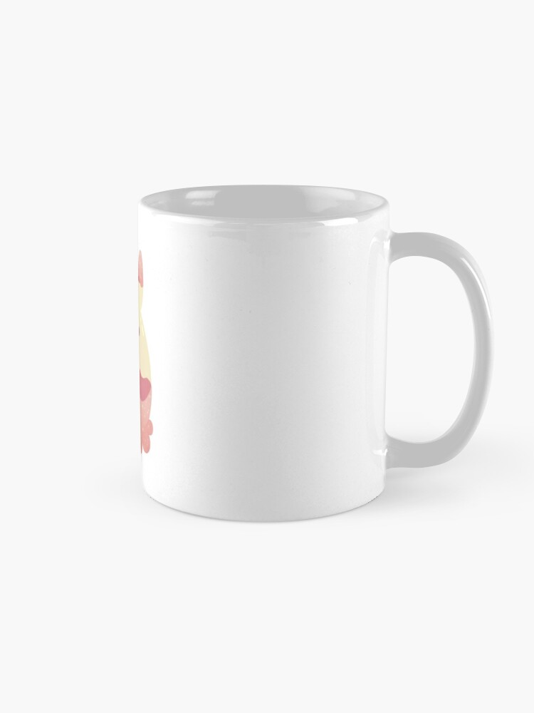 Alternate view of Water Bunny - Pink v2 Mug