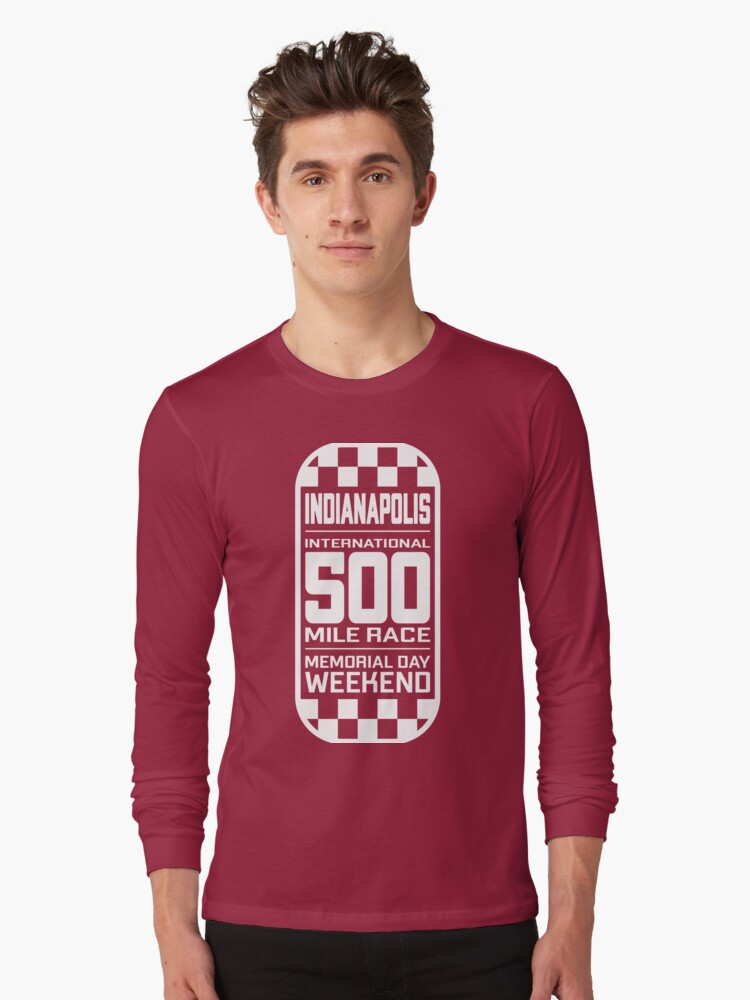 Quot Retro Indy 500 Vintage Indianapolis 500 Red Quot T Shirt