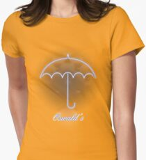 Gotham Oswald's night club Womens Fitted T-Shirt